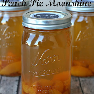 Peach Pie Moonshine.
