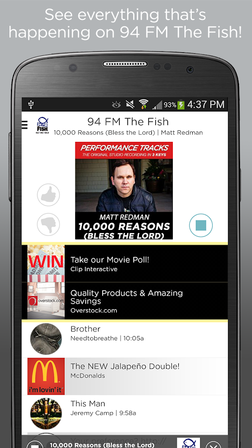 94 fm thefish android apps on google play for 94 fm the fish