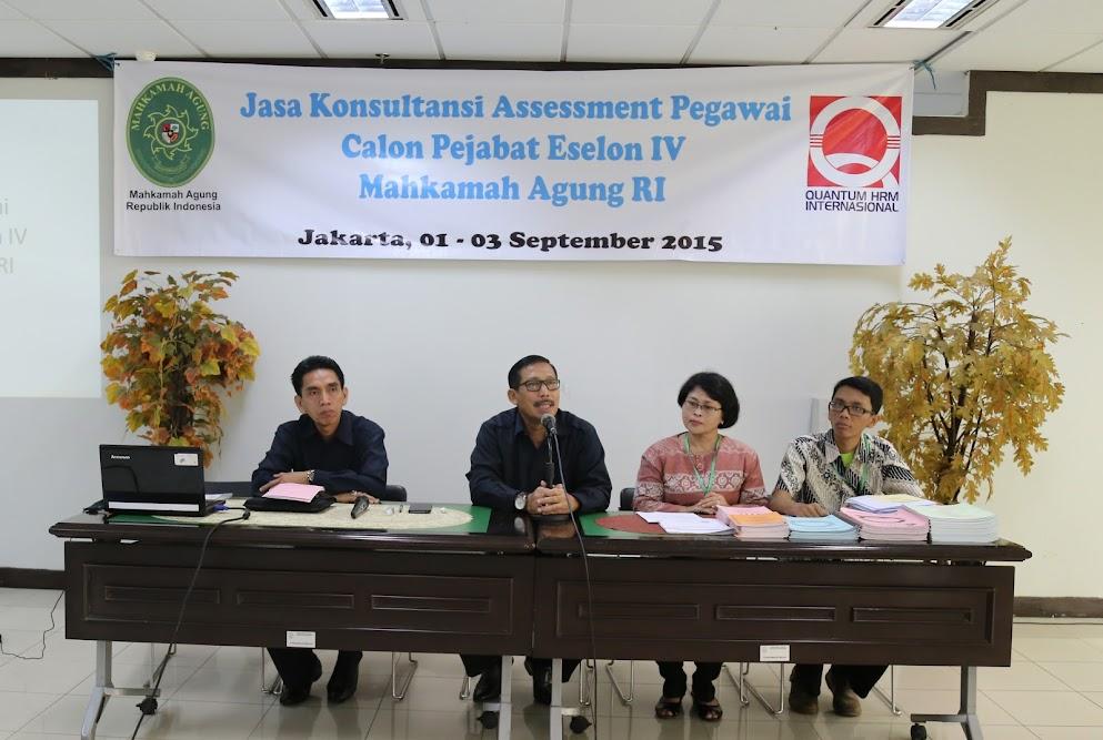 Ditjen Badilag Selenggarakan Assessment Calon Pejabat Eselon IV | (1/9)