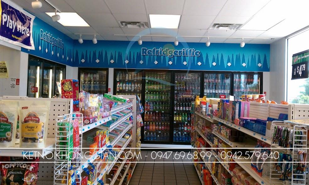 thiết kế xây dựng siêu thị mini