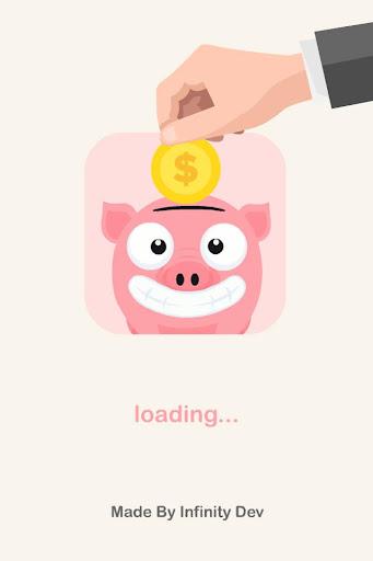 貯金箱にはお金を維持します