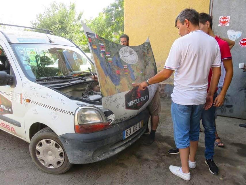 Dia 27 – Angústia em SAMARCANDA 🇺🇿 | Crónicas do Rally Mongol