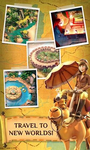 15 Pyramid Solitaire Saga App screenshot