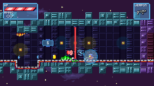 Deep Space | Space-Platformer game for Android screenshot