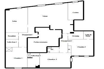 Appartement 5 pièces 129,95 m2