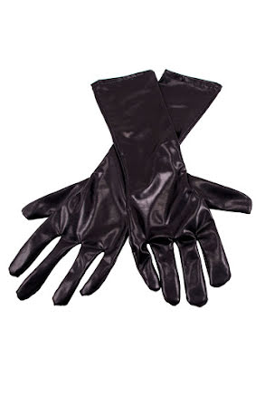 Handskar,  svartmetallic