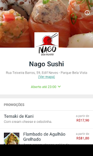 Nago Sushi Delivery- screenshot thumbnail