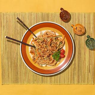 Peanut Noodle Salad.