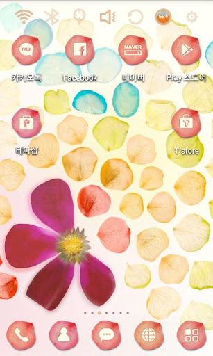 We are flowers Launcher Theme