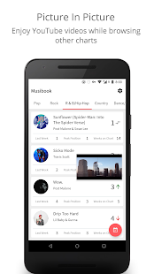 Musibook - Top Music Charts & Latest Music Trends Screenshot