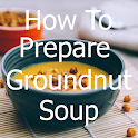 How to prepare groundnut soup icon