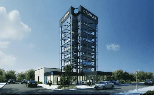 "Carvana pays $5.8M for site of planned Denver ""car vending machine"""