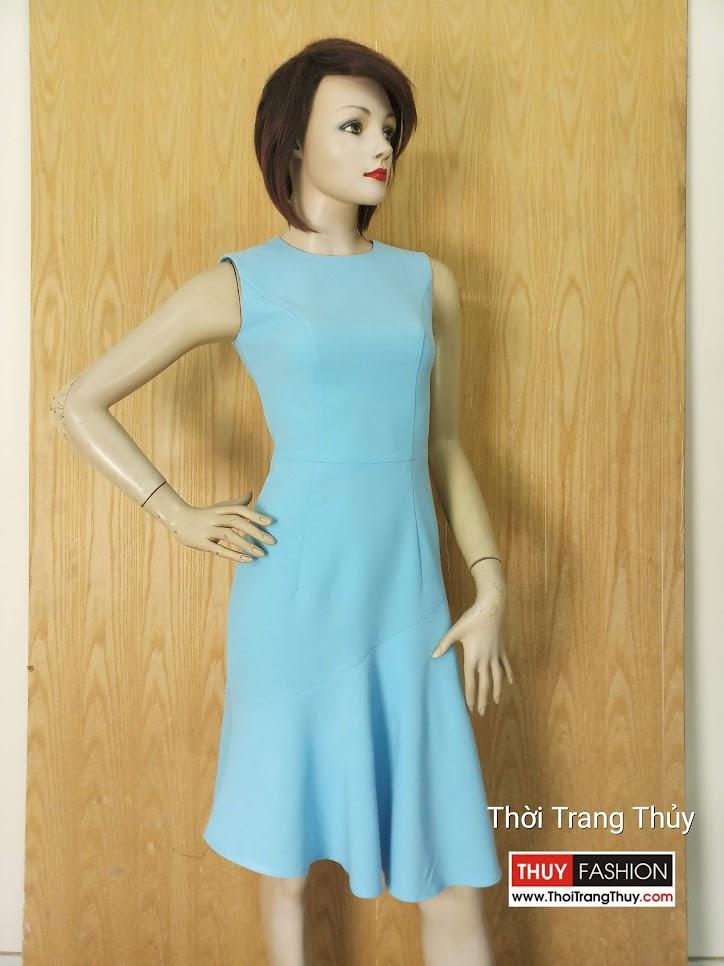 Váy xòe đuôi cá mặc dạo phố V634 Thời Trang Thủy Hải Phòng