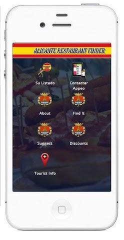 Screenshot 1 Alicante Restaurants and Bars