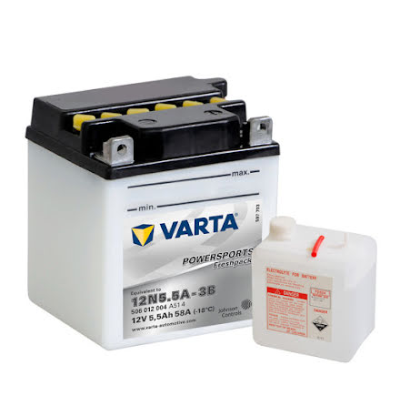 MC batteri Varta 12V/6Ah