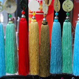 Chinese Tassels by Barbara Lewis - Artistic Objects Other Objects