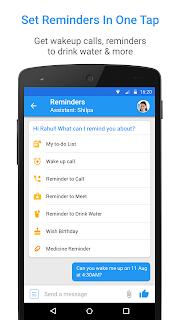 Haptik Personal Assistant screenshot 02