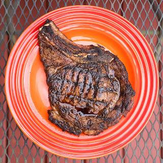 Grilled Ribeye Steaks with Tex-Mex Rub.