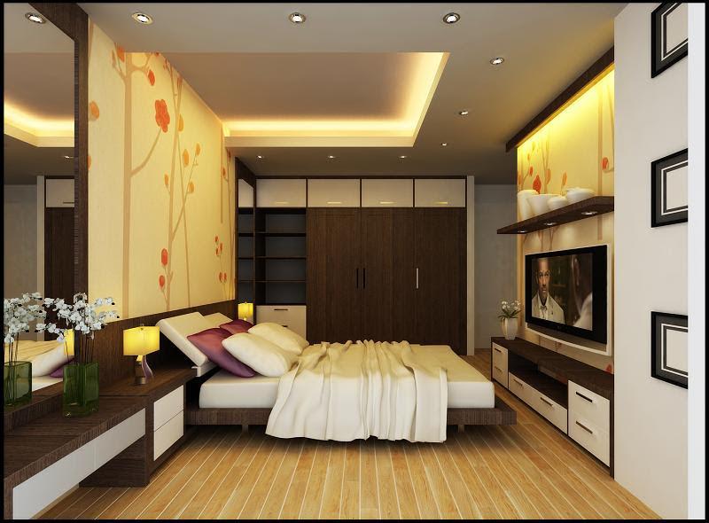 đèn led âm trần cho phòng ngủ