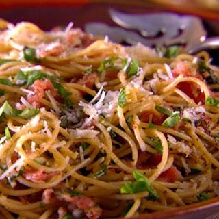 Whole-Grain Spaghetti with Pecorino, Prosciutto and Pepper (Fall)