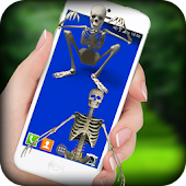 Skeleton On Screen