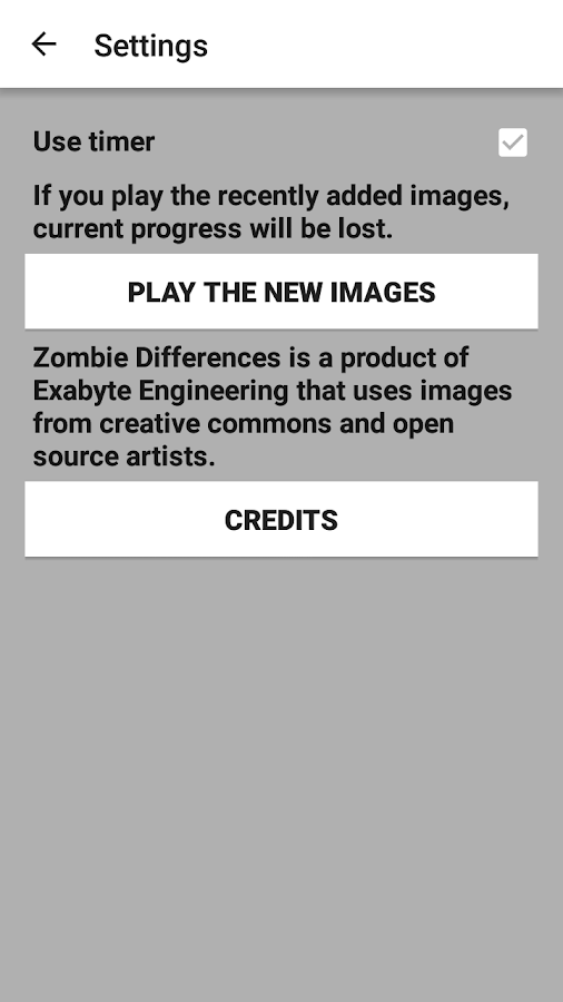 Zombie Differences- screenshot