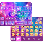 Cosmic Emoji Theme forKeyboard Icon