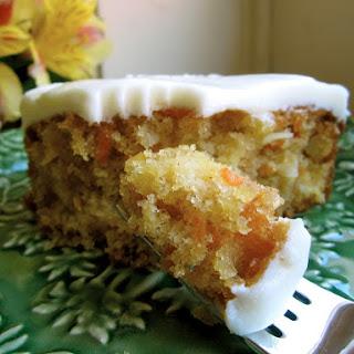 Moist Pineapple Carrot Cake with.