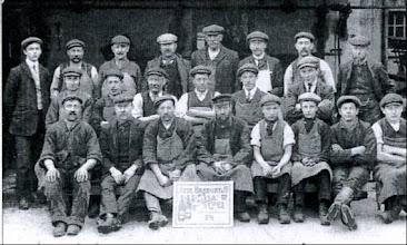 Photo: Jude Hanbury Brewery group photo 1909