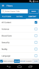 Video Game Ratings by ESRB Screenshot 7