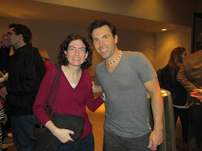 Photo: With Michael Weiss