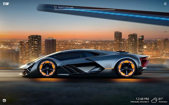 Lamborghini Super Cars Theme Hd Wallpapers