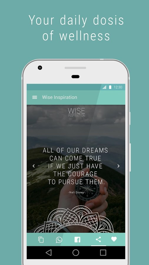 Wise Inspiration - Quotes- screenshot