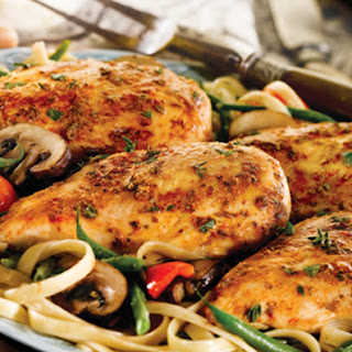 Tuscan Chicken and Pasta