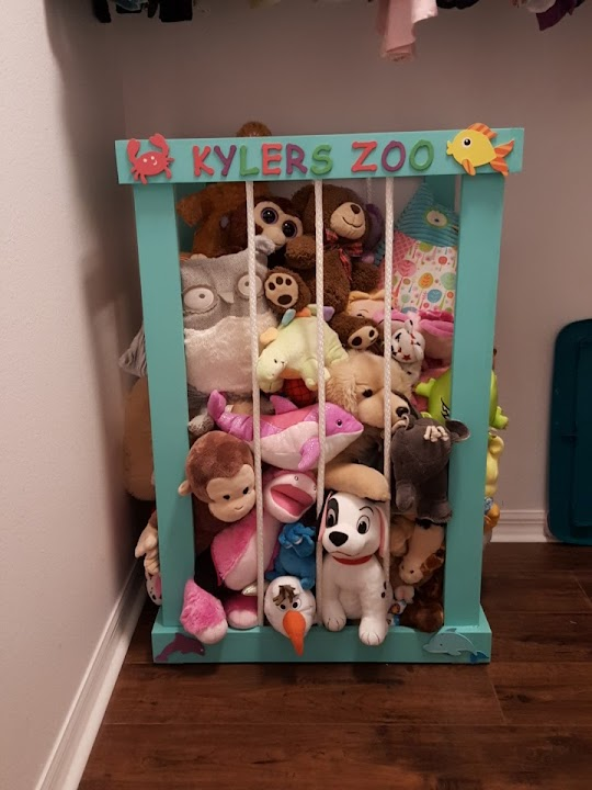 Animal zoo diy storage for stuffed animals this grey house solutioingenieria Image collections