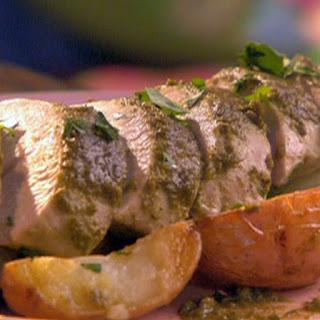 Oven Roast Turkey with Pesto