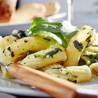 Spinach Artichoke Rigatoni.