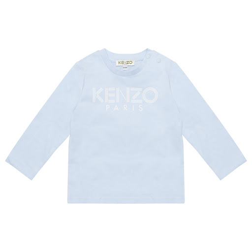 Primary image of Kenzo Kids Baby Boy Blue Top