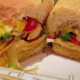 Amazing Southwest Cilantro Lime Mango Grilled Chicken Sandwiches.