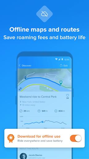 Bikemap - Your Cycling Map & GPS Navigation 10.18.1 screenshots 3