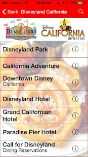Gluten Free Disney Dining- screenshot thumbnail