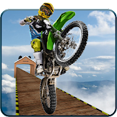 Impossible moto bike stunt : impossible bike track