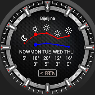 Chromatic Watch Face- screenshot thumbnail