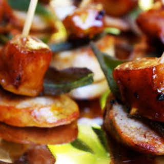 Sausage With Apple And Sage.