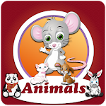 Memory Game Animals for Kids Icon
