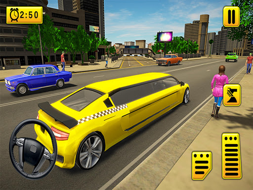 Limousine Taxi 2020: Luxury Car Driving Simulator android2mod screenshots 1
