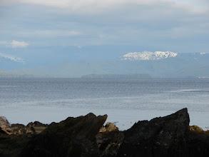 Photo: Looking south across Chatham Sound fromKanagunut Island.