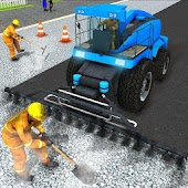Mega City Road Construction Real Builder Simulator