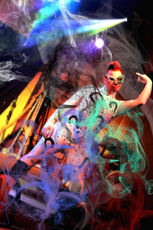 by Jamye Harris - People Musicians & Entertainers ( halloween drag show )