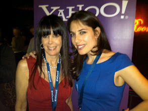 Photo: Julie Spira and Andrea Syrtash at the 140 Characters Conference